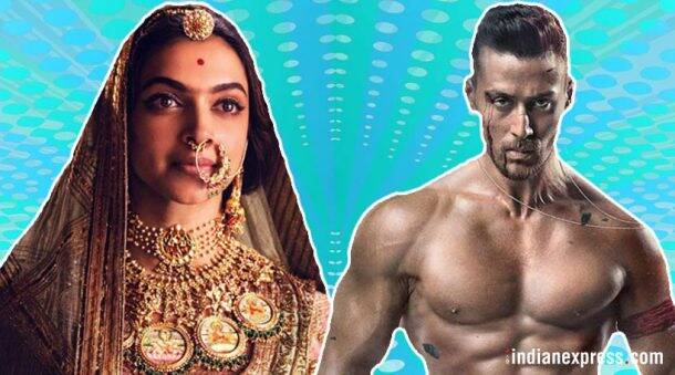 Top 5 opening week grossers of 2018: Baaghi 2, Padmaavat, Raid, and more
