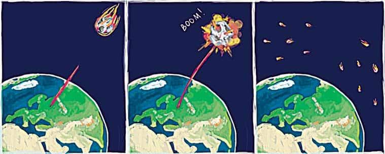 asteroid hitting earth, NASA nuclear spacecraft, space rocks, Hammer spacecraft, Near Earth Object, Bennu asteroid, NASA, meteorites