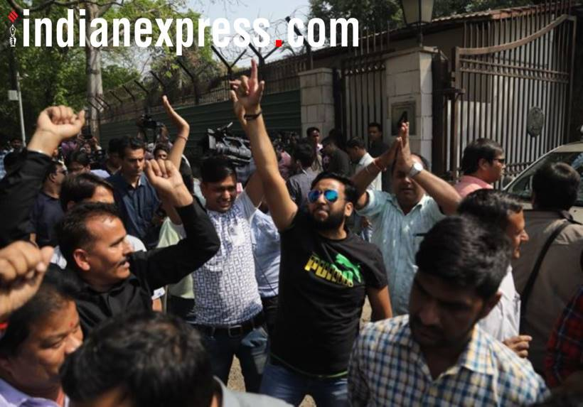 AAP MLAs, supporters enjoying as Delhi High Court quashes Presidential notification