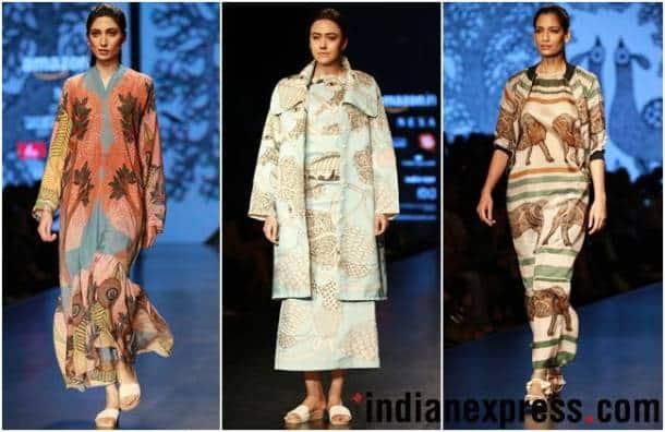 Amazon India Fashion Week AW'18, AIFW 2018, AIFW Day 3, Abhi Singh, ILK and Aartivijay Gupta, celeb fashion, bollywood fashion, indian express, indian express news