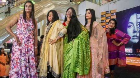 International Women's Day: Acid attack survivors take to ramp to celebratewomanhood