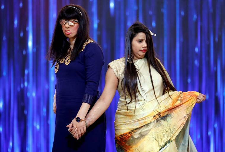 Acid attack survivors, Acid attack survivors walked the ramp at a fashion show, Acid attack survivors stories, International women's day, women's day news