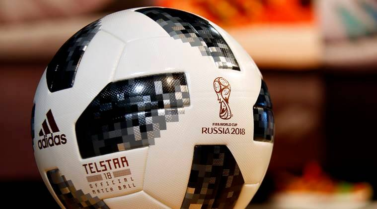 FIFA World Cup ball to be used in Russia
