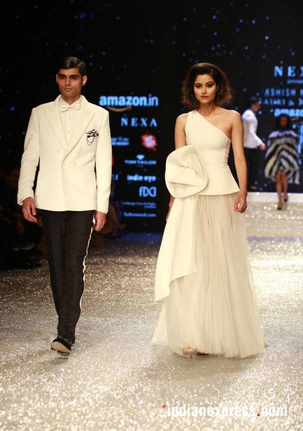 Amazon Fashion Week, Amazon Fashion Week Gauri and Nainka, Amazon Fashion Week Vaani Kapoor, Amazon Fashion Week Diana Penty, Amazon Fashion Week Shyamal and Bhumika, Amazon Fashion Week latest photos, Amazon Fashion Week Abraham and Thakore, indian express, indian express news