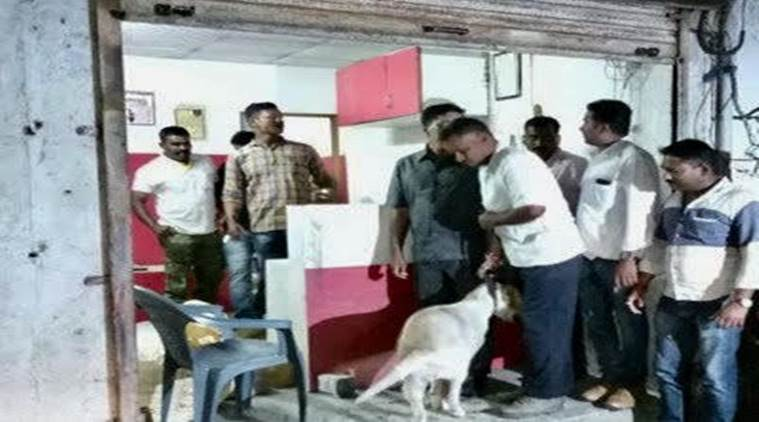 Two injured in a parcelblast in Ahmednagar