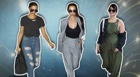 airport fashion, airport style, Deepika Padukone, Malaika Arora, Rani Mukerji, Ileana D'Cruz, Huma Qureshi, Vaani Kapoor, Mira Rajput, celeb fashion, bollywood fashion, indian express, indian express news