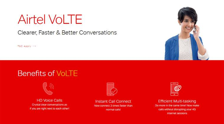 Airtel, Airtel VoLTE, Airtel VoLTE Kolkata, How to get Airtel VoLTE, Airtel VoLTE list of compatible phones, List of Airtel VoLTE compatible phones