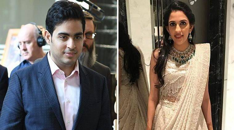 Mukesh Ambani's son Akash engaged