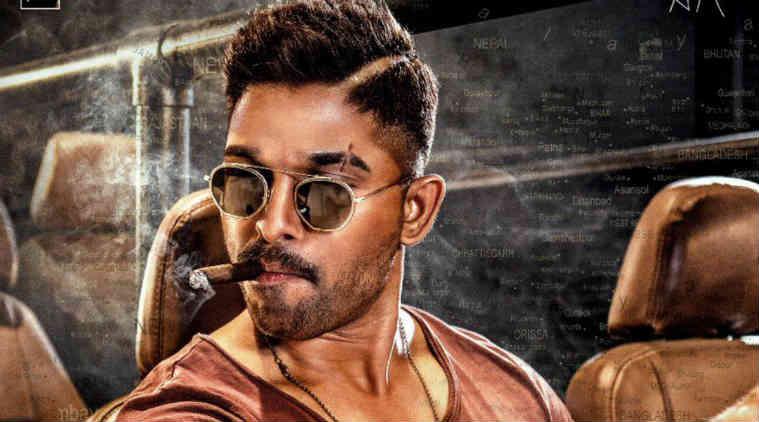 Allu Arjun Rocks With A Cigar — Poster Impact