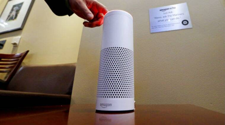 Amazon Ring acquisition, voice-assisted digital speakers, Amazon Echo, Ring smart devices, Google Home Mini, smart locks, Amazon Alexa, Google Nest, Apple, home-services category
