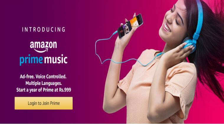 Amazon Prime Music, Amazon Prime Music India, Prime Music Amazon, Prime Music, Amazon Prime Music app, Sahas Malhotra Amazon, music streaming apps in India, Apple Music, Spotify, Saavn, Gaana