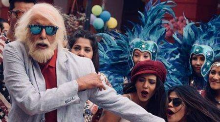 Photos: Amitabh Bachchan's rap for 102 Not Out looks all kinds of quirky