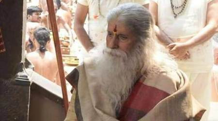 Amitabh bachchan look in Narasimha Reddy
