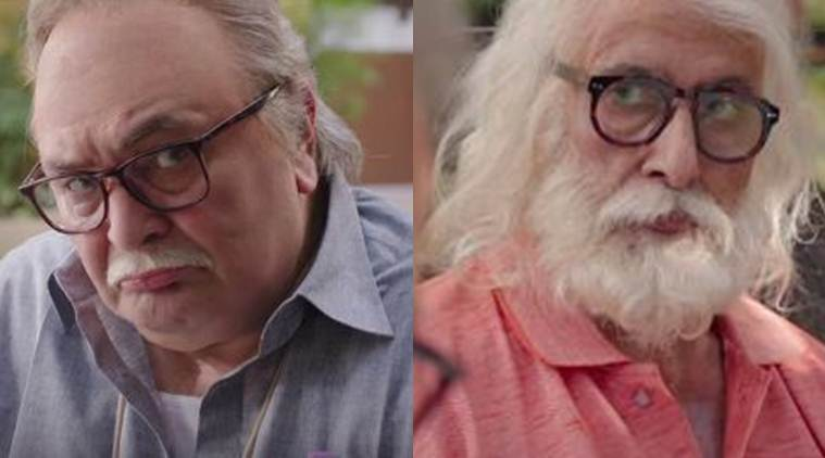 Not Out trailer: Amitabh Bachchan, Rishi Kapoor starrer redefines father-son relationship