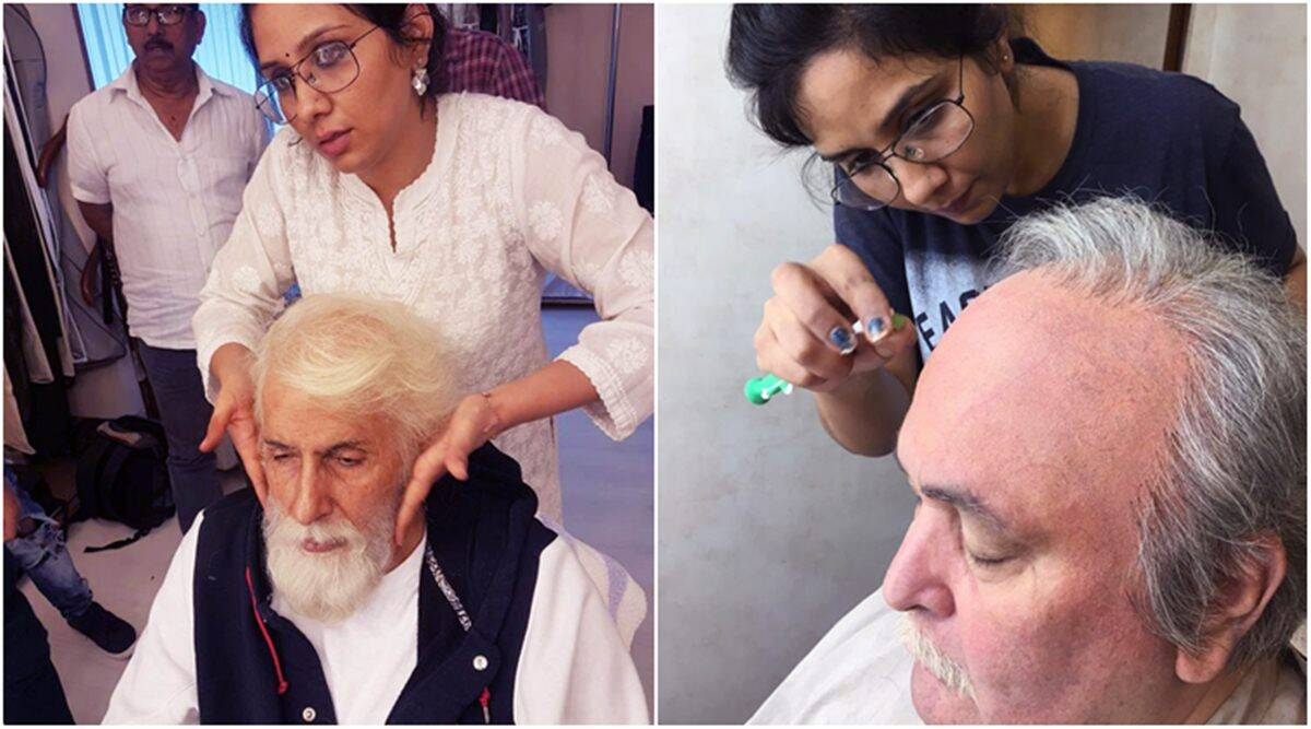 Amitabh Bachchan And Rishi Kapoor S Devotion To Their Art Is Awe Inspiring 102 Not Out Makeup Artist Entertainment News The Indian Express He has a huge fan following, and his fans want to remain updated about the latest happening in life of. amitabh bachchan and rishi kapoor s