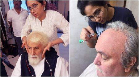 Amitabh Bachchan and Rishi Kapoor's devotion to their art is awe-inspiring: 102 Not Out makeup artist