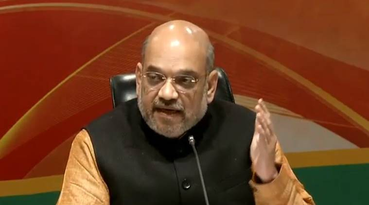 Heard there are polls in Italy: Amit Shah's jibe at Rahul Gandhi