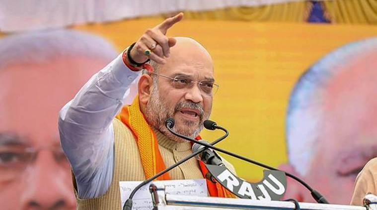 Amit Shah, BJP chief, Dalit protests, SC/ST Act, Supreme court, India news, indian express news