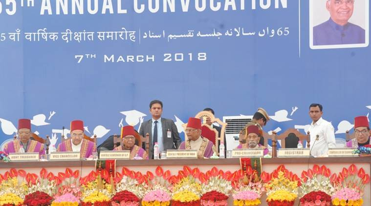 Ram Nath Kovind, AMU, Aligarh Muslim University, International Womens Day, Kovind on AMU, Indian Express