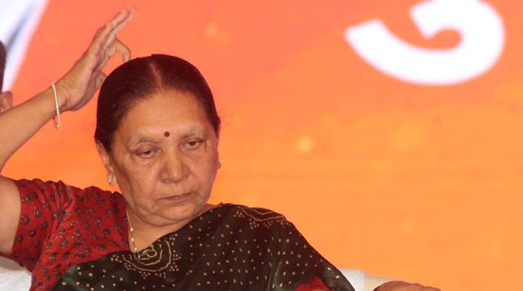 anandiben patel, madhya pradesh, coffee table book, mp govt, congress, indian express