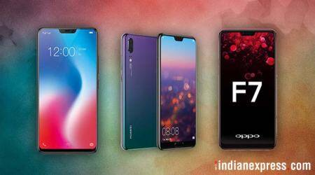 Huawei P20 Pro, Oppo F7, Vivo V9, OnePlus 6: Top Android phones with a notch