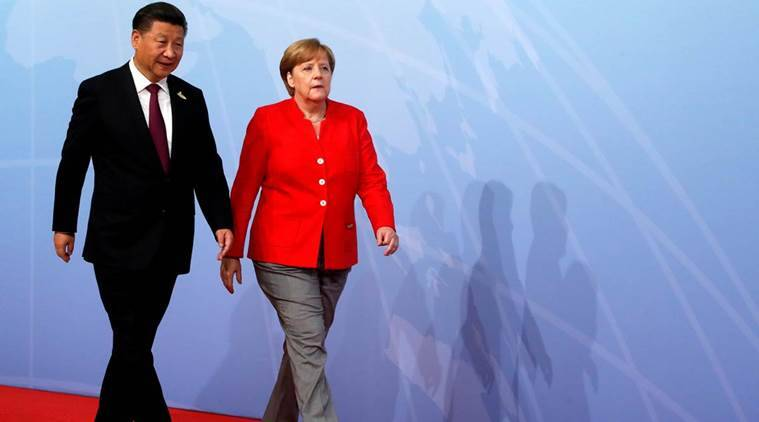 Merkel, Macron meet to find common ground