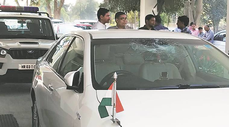 2 held for pelting stones at Anil Vij's car in Panipat