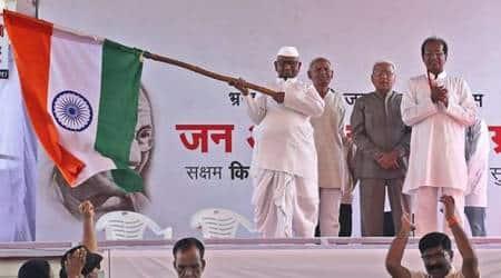 Anna Hazare sits on indefinite hunger strike, attacks Modi govt onLokpal