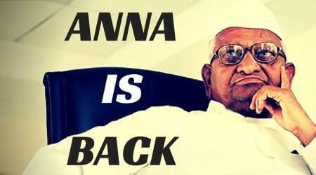 Why is Anna Hazare protesting in Delhi?