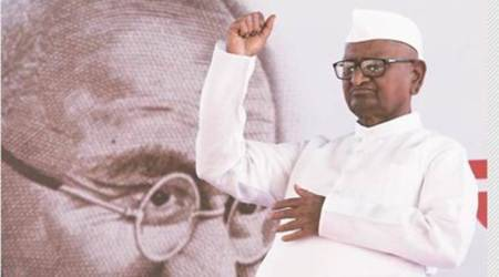 Delhi: Seven years after first stir, Hazare returns for fresh Lokpal push