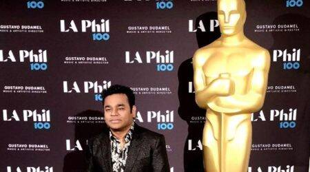 AR Rahman bonds with Hans Zimmer at Oscar concert