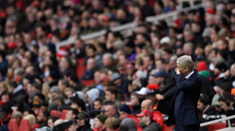 Poor attendances at Arsenal home games a worry for Arsene Wenger