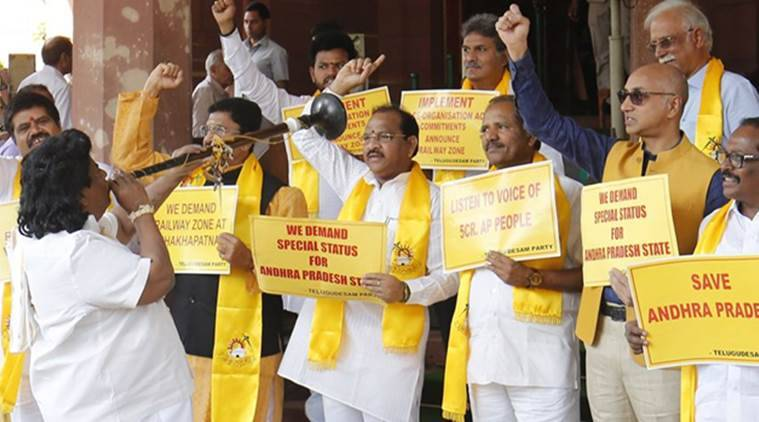 TDP brings no-trust move against NDA after pullout
