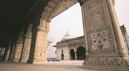 Red Fort, Red Fort Asad Burj, Red Fort Asad Burj Public, Indian Army, Delhi News, Indian Express News