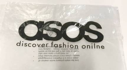 British online fashion brand Asos prints 17,000 'limited edition' bags with a typo