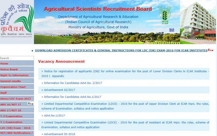 asrb.org.in, asrb admit card