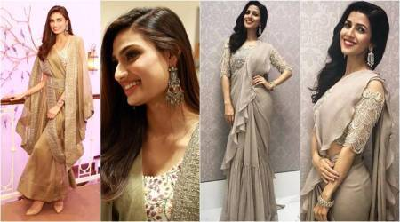 Out of the ordinary: Take inspiration from Athiya Shetty and Nimrat Kaur on how to work fusion fashion