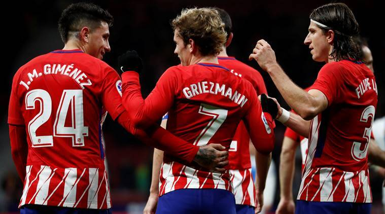 Atletico Madrid, Atletico Madrid vs Barcelona, Barcelona Atletico Madrid, Atletico Madrid news, Atletico Madrid updates, sports news, football, Indian Express