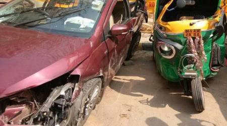 Delhi teen on joyride rams car into autorickshaw, its driver killed