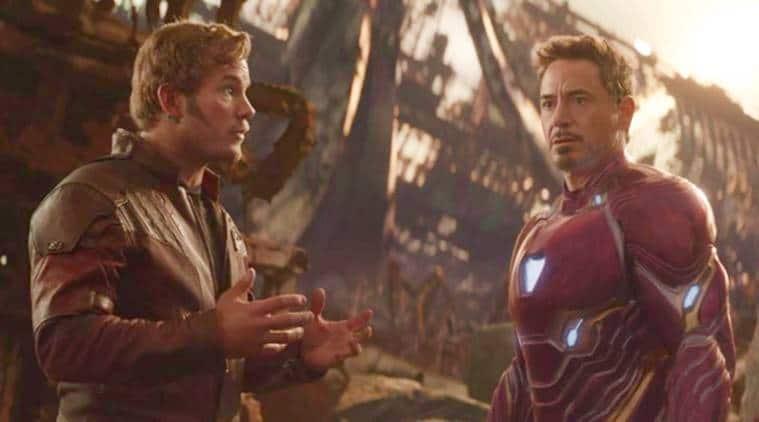 Chris Pratt and Robert Downey Jr photos