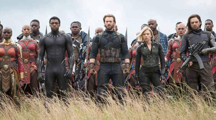Marvel film Avengers: Infinity War photos