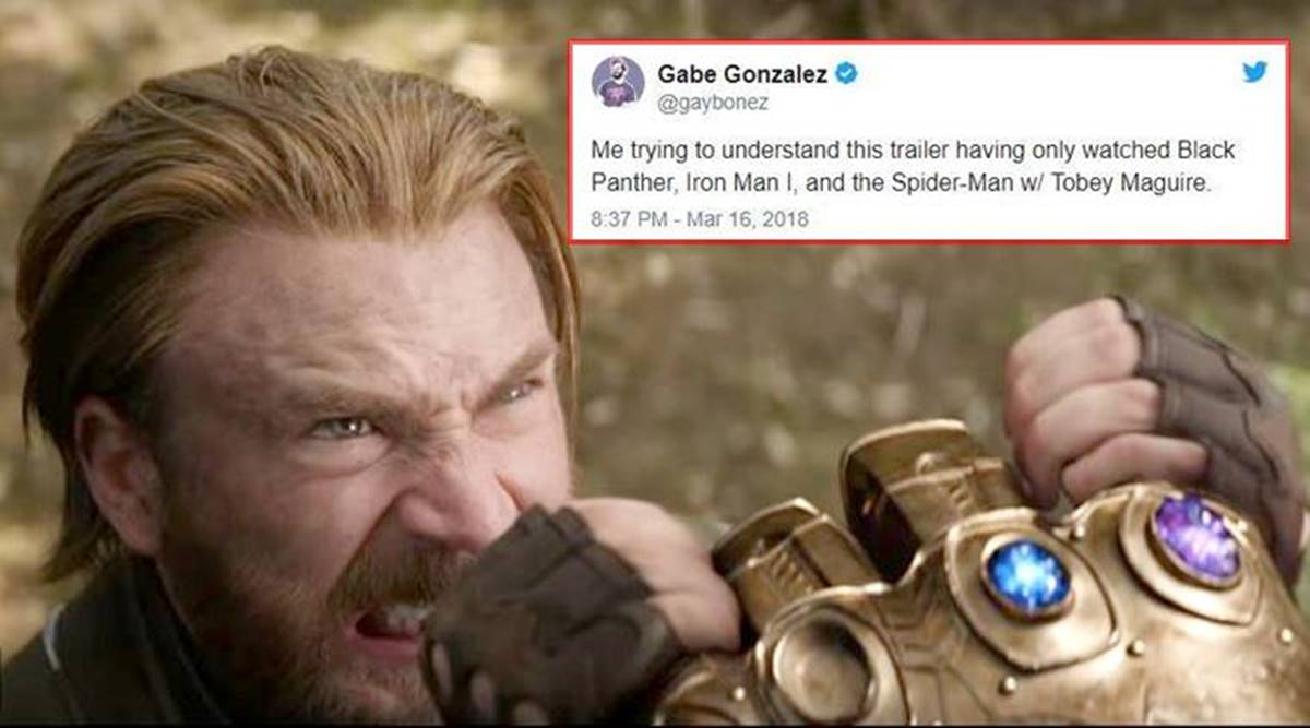 Avengers Infinity War Trailer Is Out And Funny Twitter Memes