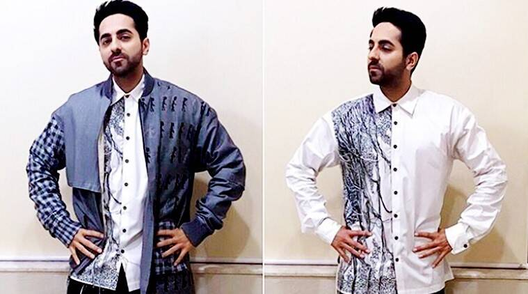 Ayushmann Khurrana, Ayushmann Khurrana style, Ayushmann Khurrana quirky looks, Ayushmann Khurrana cool style, Ayushmann Khurrana quirky pants, fashion news, indian express, celeb fashion,
