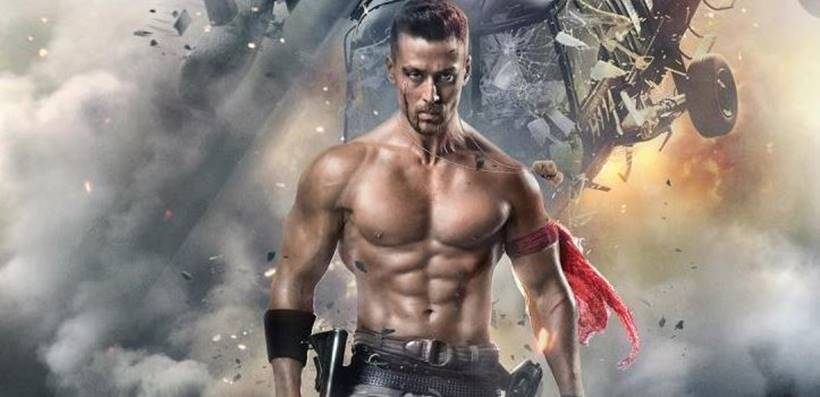 tiger shroff in baaghi 2 poster