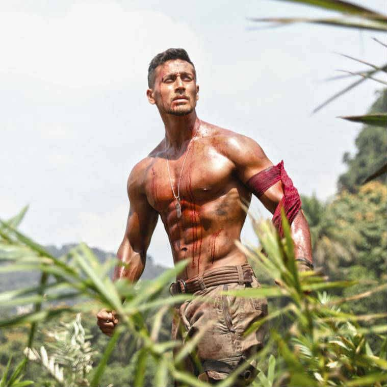Tiger Shroff in Baaghi 2 photos