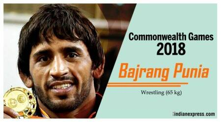 Bajrang Punia won a silver medal in Glasgow.