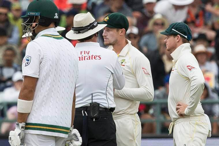How the cameras caught Australian ball-tampering against South Africa