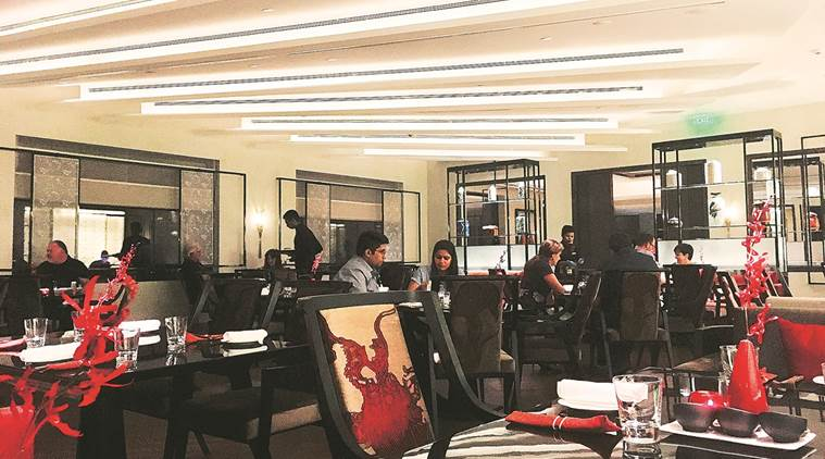 baushaun restaurant review, authentic chinese in delhi, high end chinese restaurant, the oberoi delhi, chinese food, indian express