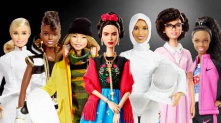 Barbie, Barbie International Women's day, Role model barbie, Women's Day, womens day barbies, Happy Women's Day International Women's Day 2018 International Women's Day 2018 Theme Women's Day Quotes Women Quotes Women Day 2018 Women's Day History Women Empowerment Women Day Images Women Day Greetings Women Day Special Women's Day Quotes Women's Day Celebration, Indian express, indian express news