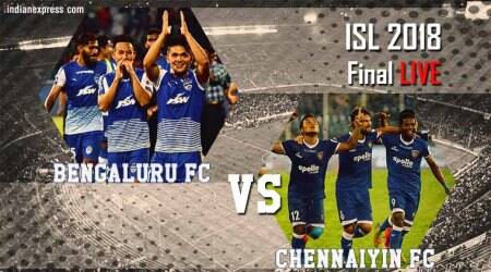 ISL 2018 Final Live Score, Bengaluru FC vs Chennaiyin FC Live Streaming: At half-time, Chennai lead 2-1